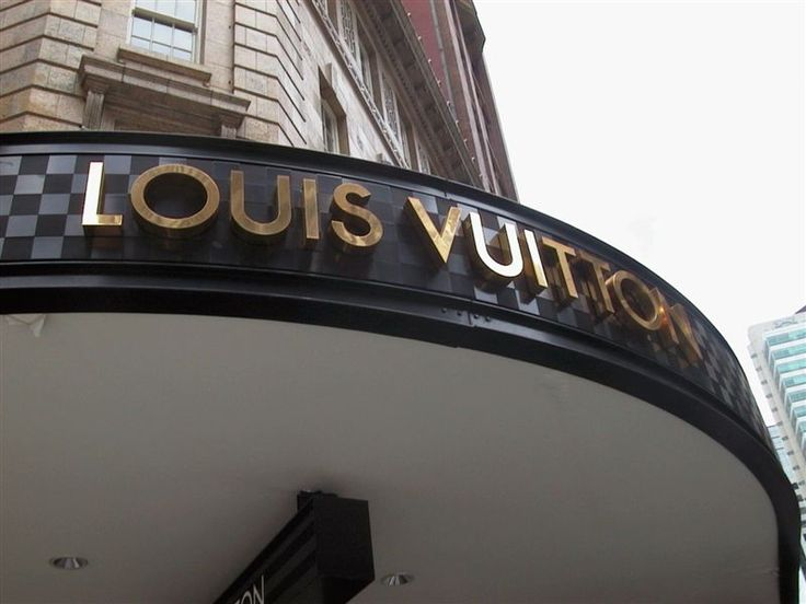 Louis Vuitton cut out letters