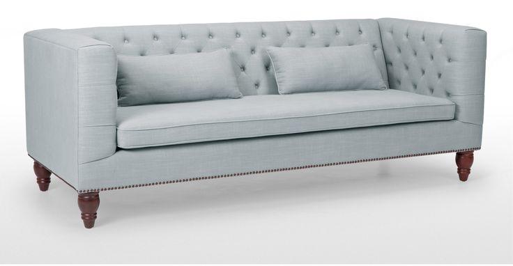 Flynn 3 Seater Sofa, Persian Grey