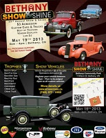 May 19 #KawarthaLakes #Autos Bethany : 23rd Annual Show and Shine  Click pic for event link!
