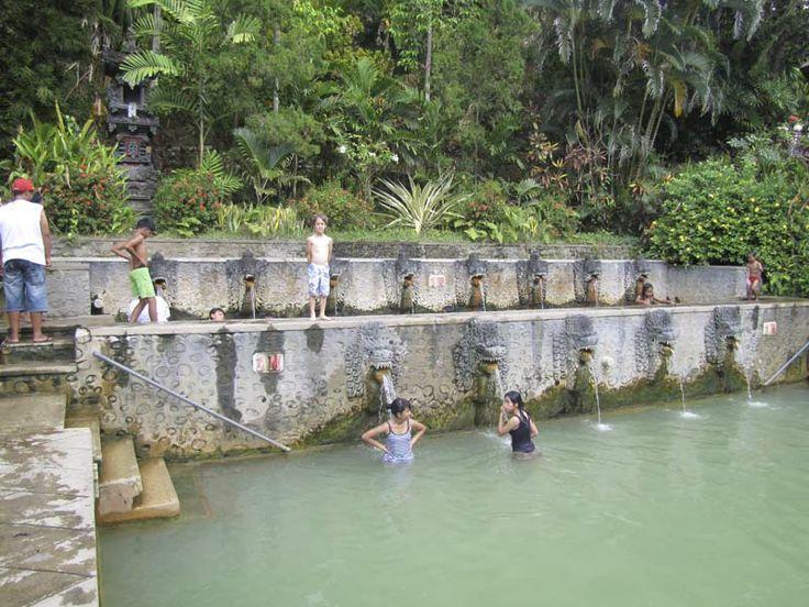 Hot springs Lovina