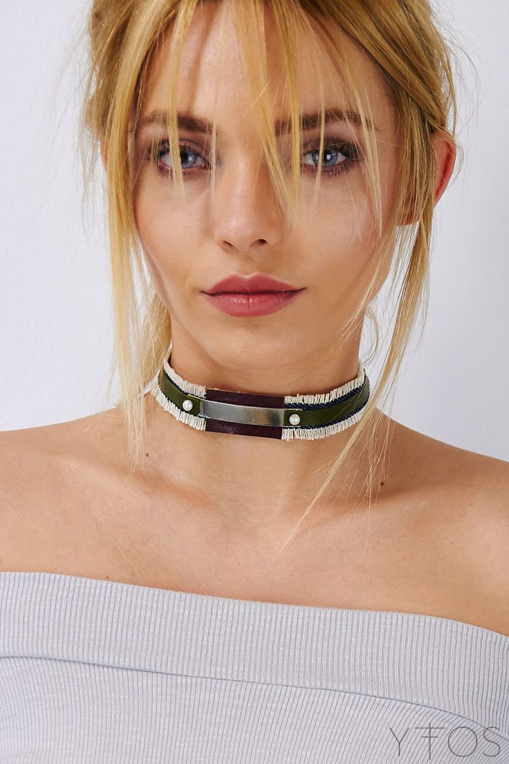 Yfos Online Shop | Accessories | Jewelry | Gess Denim Choker