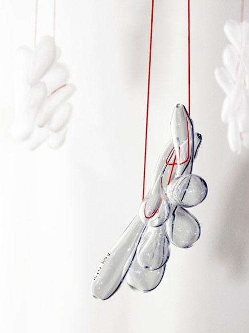 Christoph Zellweger Necklace: R 189 2012 Glass, textile