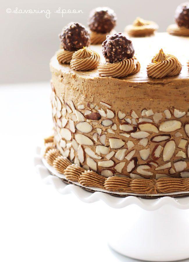 mocha-expresso-cake. So pretty!