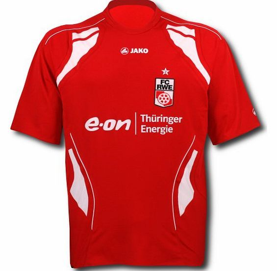 Bundesliga Jako 2010-11 RW Essen Jako Home Football Shirt Official 2010-11RW Essenhomeshirt manufactured by Jako. This football kit is availableto buy online inadult sizesS M L XL XXL.Authentic jersey of the Bundesliga team. http://www.comparestoreprices.co.uk/football-shirts/bundesliga-jako-2010-11-rw-essen-jako-home-football-shirt.asp