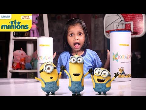 Mega Minion Bob Surprise Egg Head! Toys : Best of Minions Movie Surprise Egg…