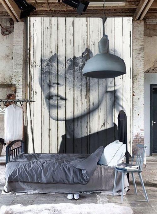 Bed Mural