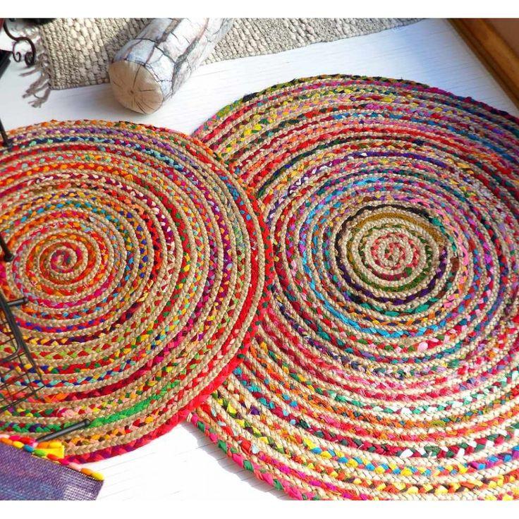 Alfombras redondas modernas affordable alfombra moderna - Alfombras redondas ...