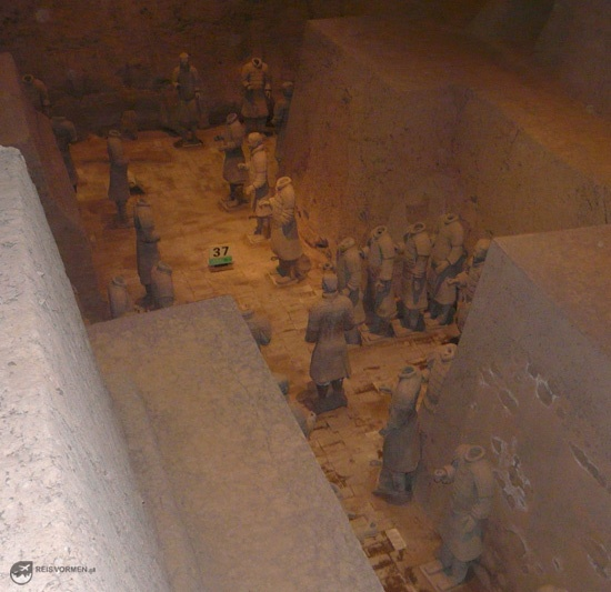 Again, many terracotta warriors....