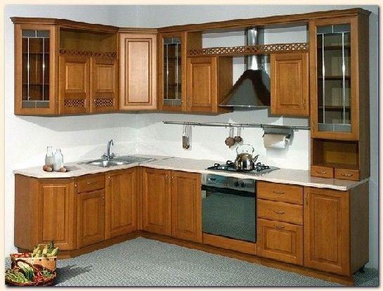 Beau Meuble De Cuisine En Bois Massif Home Kitchen Home Decor