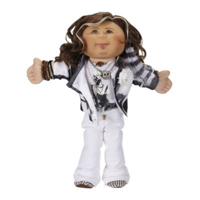 @michele ezell this one is for you mom/.. steven tyler cabbage patch doll. wow.
