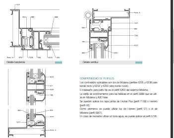 1000 ideas about perfiles de aluminio on pinterest - Detalle carpinteria aluminio ...