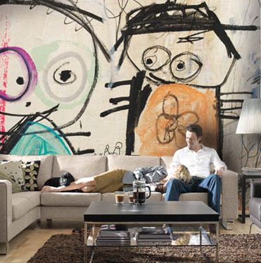Poul Pava living room