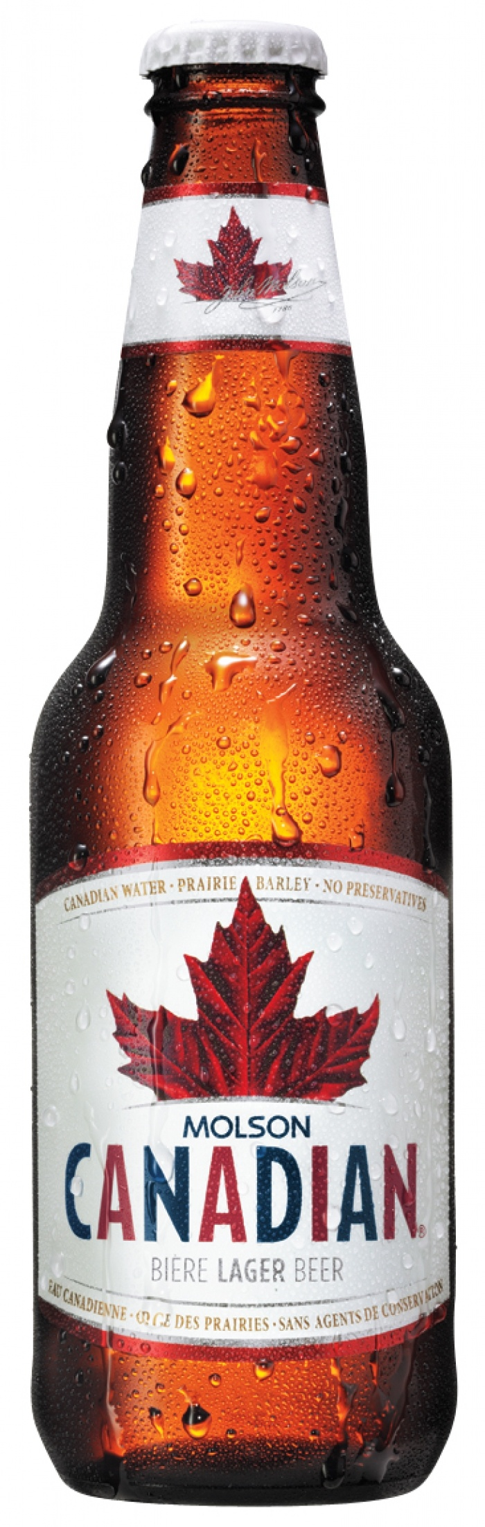 I AM CANADIAN, Molson Canadian, founded in Montreal, Quebec.