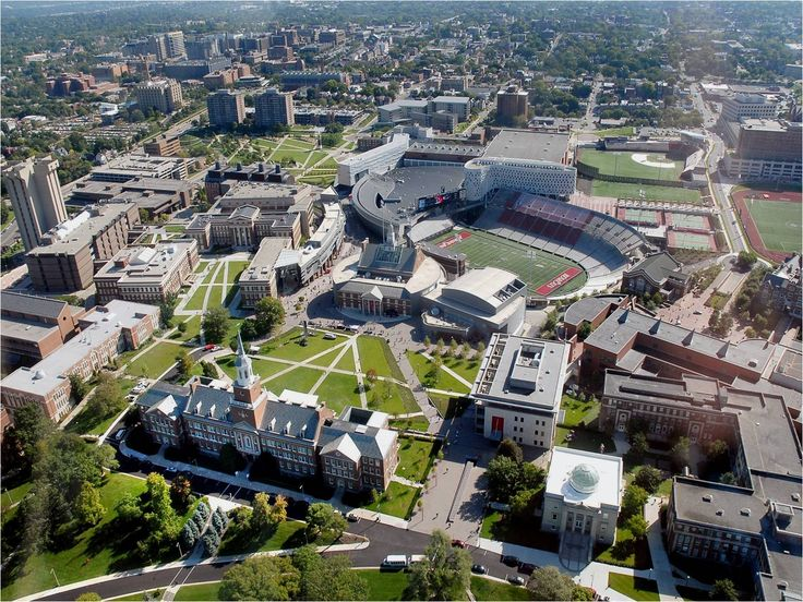 u of cincinnati (voted as having one of the top 10 most beautiful campuses in the world by forbes)