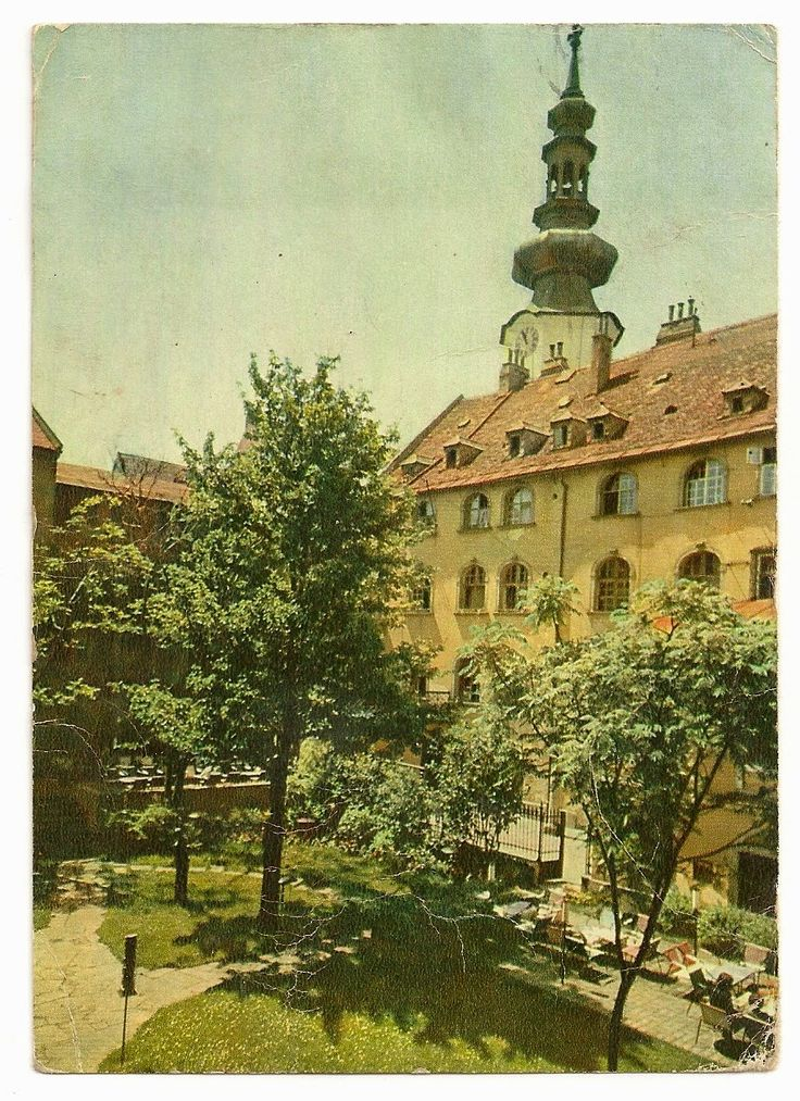 stamp and postcard: The look of Bratislava 2.13.circa 1969 pod michalskou branou
