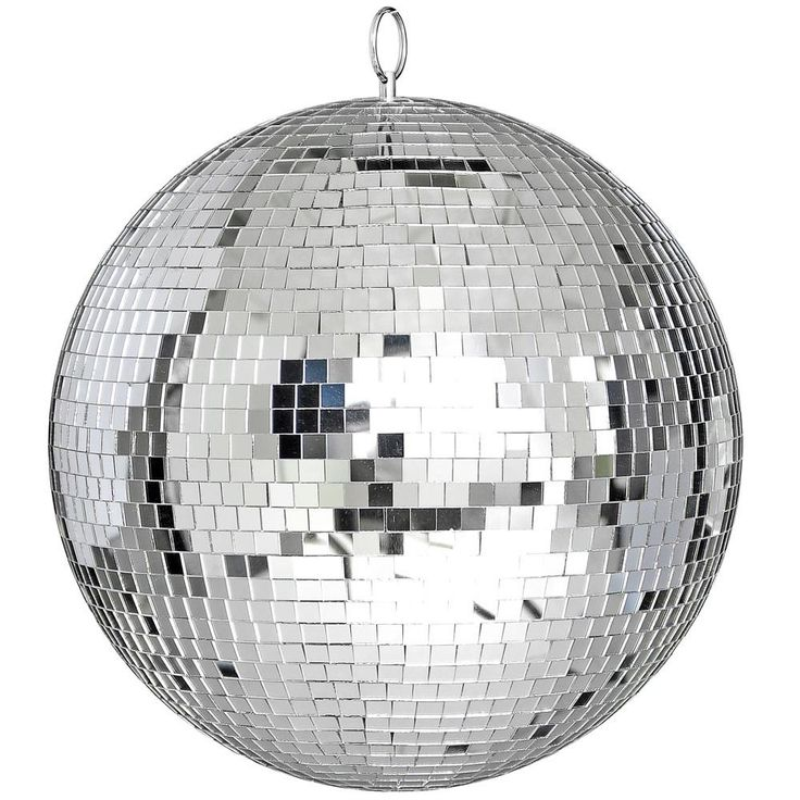 """Large 12"""" Mirror Glass Disco Ball DJ Dance Home Party Bands Club Stage Lighting  