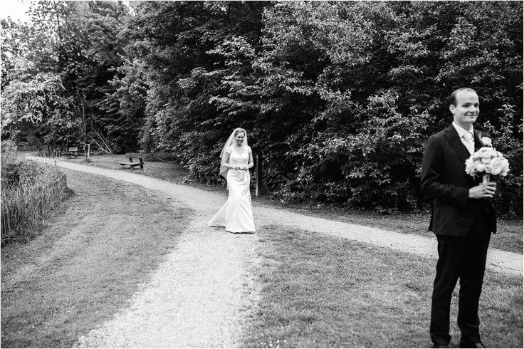 First Look Bruiloft Kasteel Poelgeest » Selah Photography