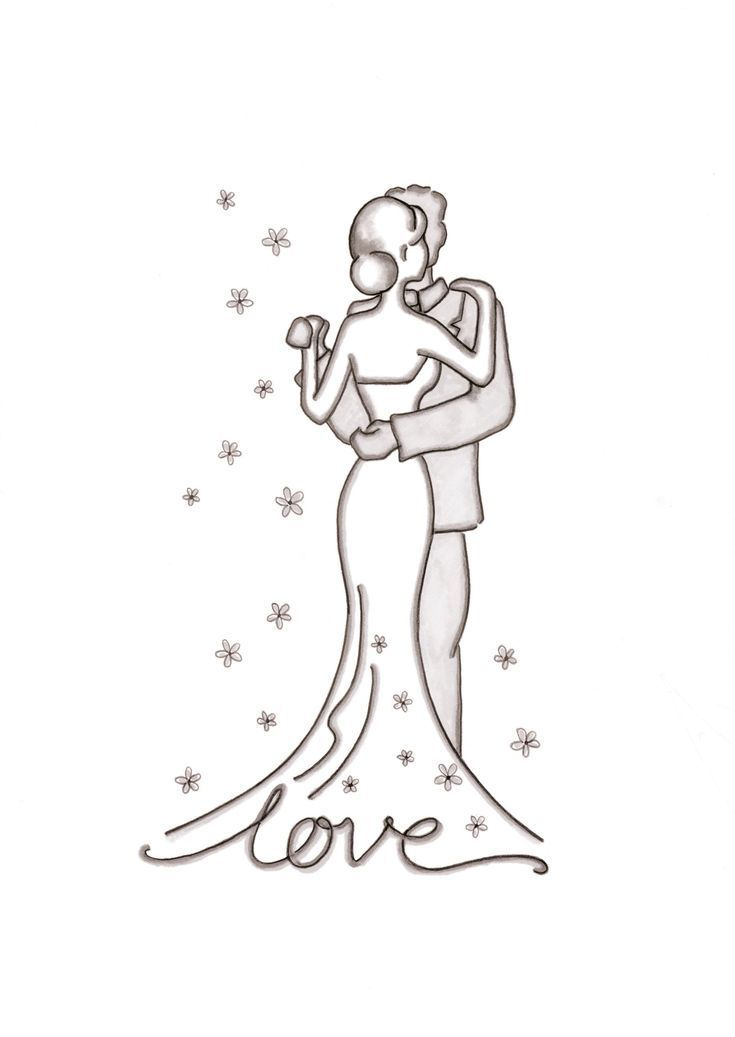 Wedding Pictures To Draw Google Search Pictures To Draw Relationship Drawings Cute Couple Drawings