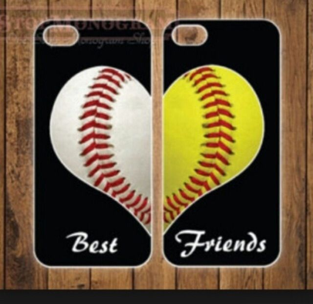 I love this phone case! Me and one of my softball friends can have!