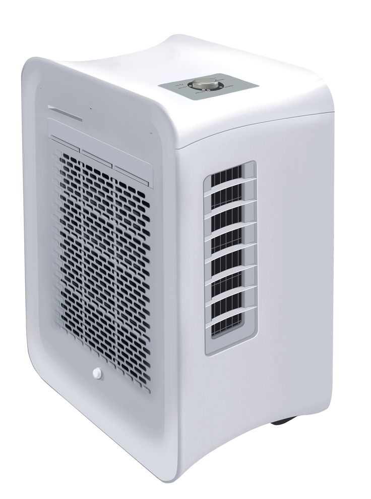 The Dimplex 2.6kW Portable Air Conditioner model EWTC9 does not require a drip tray or hose, due to its self-evaporative system. Plus, the included window kit suits sash or sliding windows for true portability.