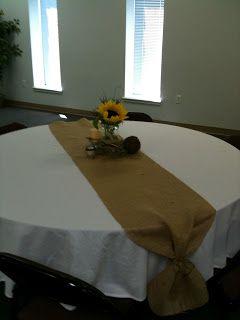 A Blissful Bash: A Rustic Sunflower bridal shower...