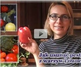 kierunek zdrowie: Jak usunąć pestycydy z warzyw i owoców? Mycie warzyw i owoców.