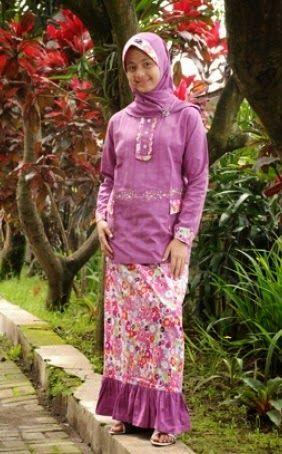 baju muslimah untuk anak perempuan