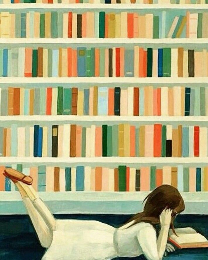The books are my world