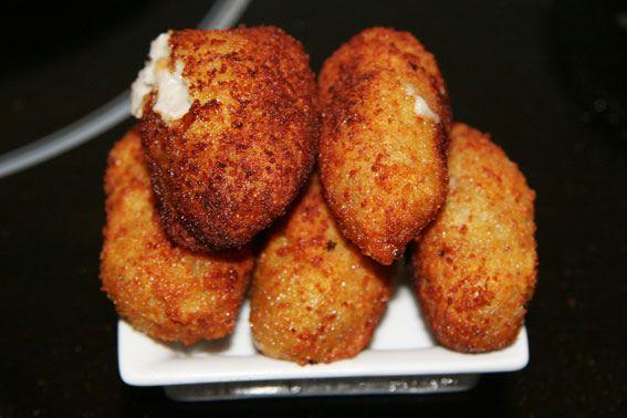 Croquetas de pollo cocido en el cocido, receta de vinoycocina.es