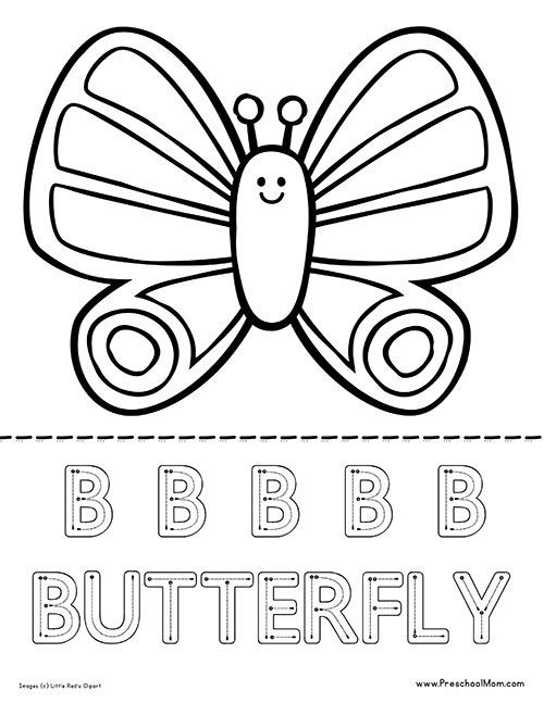 55 Top Butterfly Coloring Pages For Preschool , Free HD Download