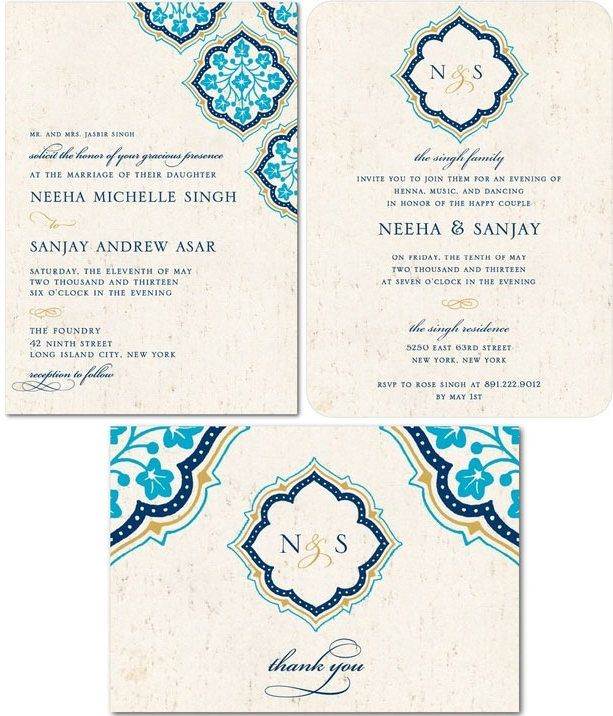Creating the Perfect Indian Wedding Invitations without Breaking the Bank » Indian Wedding Blog: Rubies and Ribbon