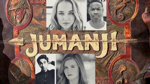 Jumanji cast additions: Ser'Darius Blain, Madison Iseman, Alex Wolff and Morgan Turner. Catch the film on the big screen July 28, 2017.