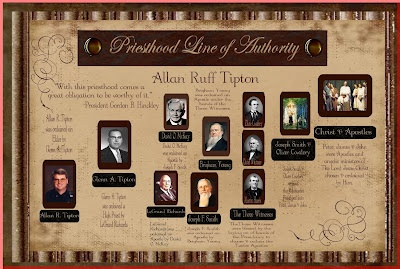lds church records priesthood line authority relationship