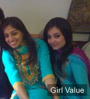 """{""""token"""":""""2022""""} - Pakistani College Girls in Home and in Blue Tight Salwar Kameez Dress"""