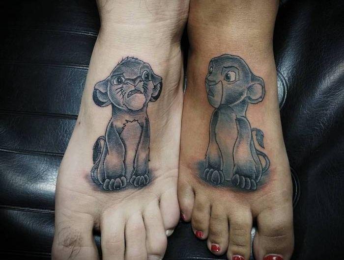 1001 + Ideen und Bilder zum Thema Partnertattoo   Tattoos