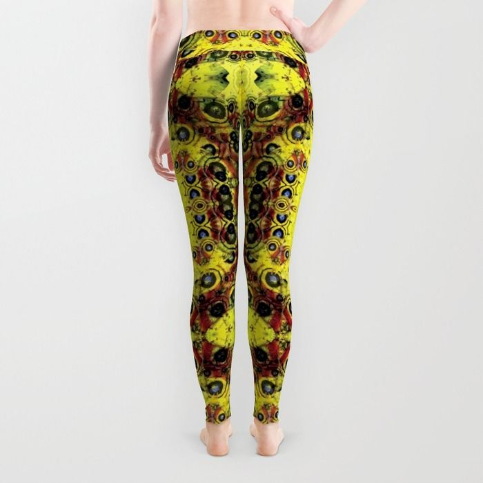 Moth's wing pattern in leggings -Back! http://society6.com/product/moths-wings-sj0_leggings#56=417