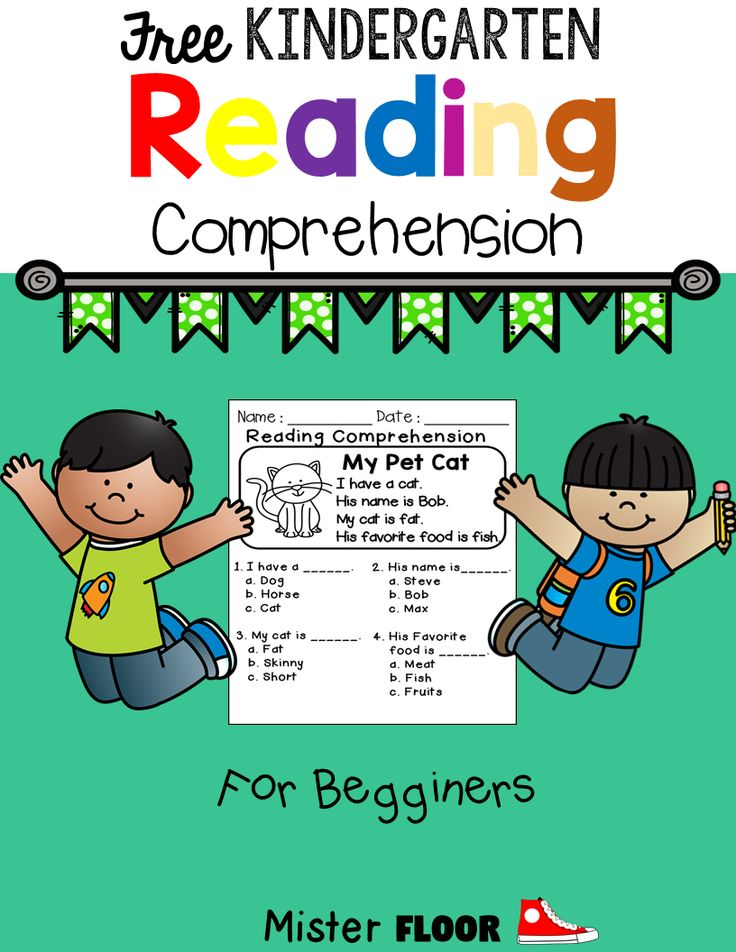 These 3 free pages are to practice reading comprehension.  These are good for beginning readers.