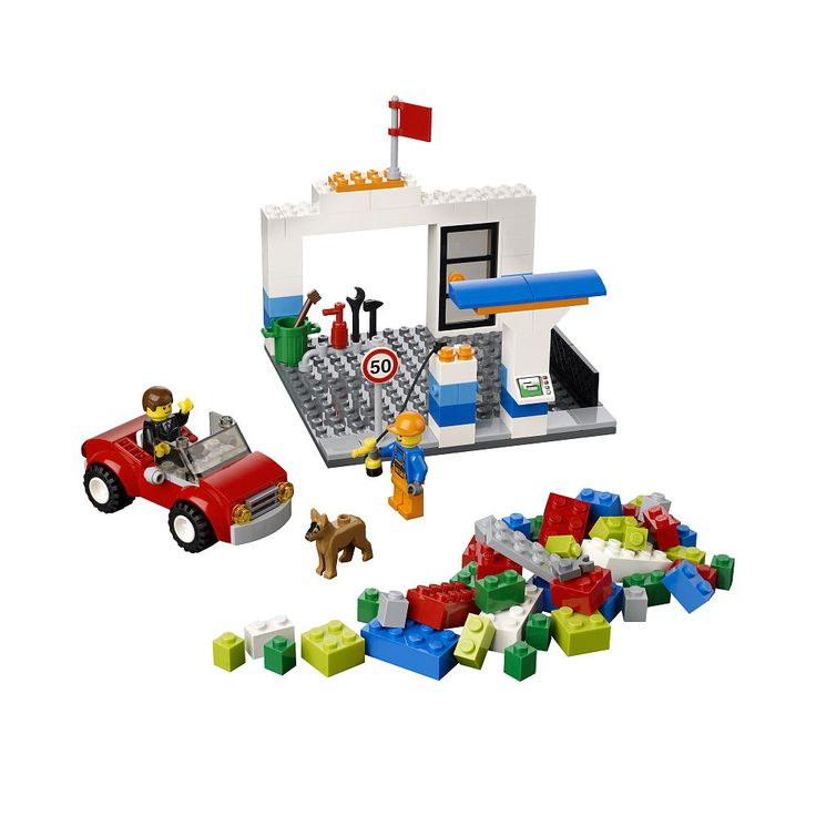 LEGO 10659 - LEGO BRICKS & MORE - Blue Suitcase - Μπλέ βαλιτσάκι - Toymania Lego Online Shop