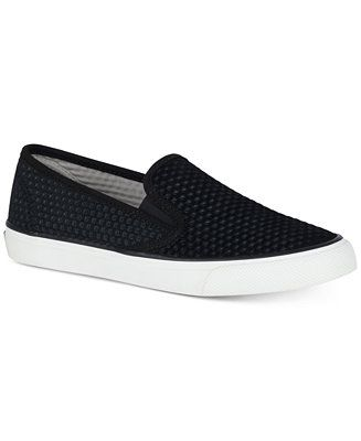 89d615023c39c Shop Sperry Women s Seaside Embossed Memory-Foam Fashion Sneakers online at  Macys.com. Geometric embossing lends a modern update to the classic slip-on  ...