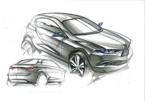Coupe concept on Behance