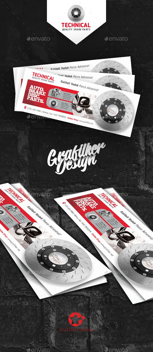 Technical Data Facebook Cover Template PSD, InDesign INDD