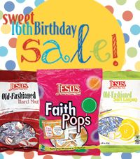 16% off your order!  Due to popular demand, we've extended our 'Sweet 16' Birthday Sale! We are offering you 16% off our entire retail site! This sale will only last till Thursday at midnight! (10/3/13)