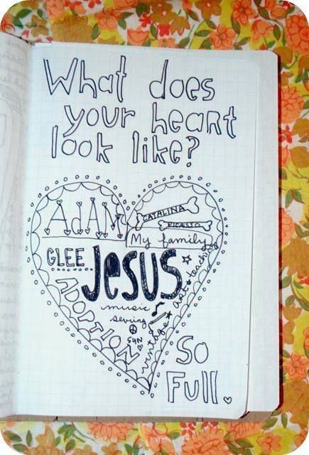 Journaling Challenge - what does your heart look like