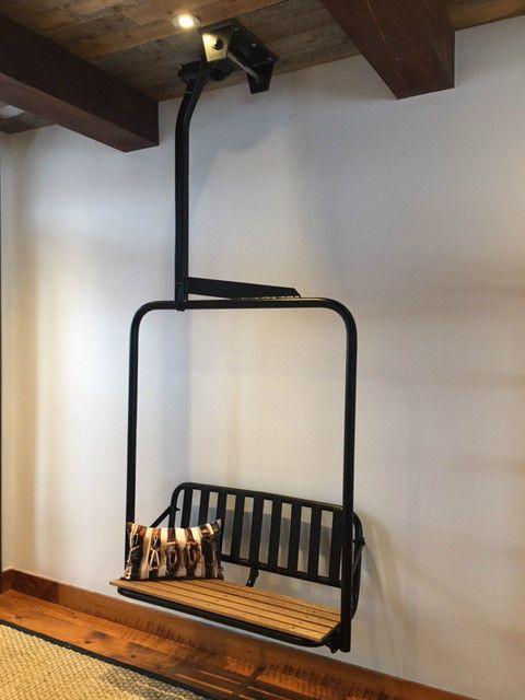 ski lift chair- Front Porch!
