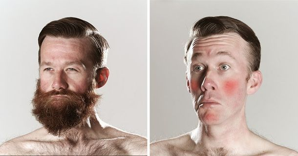 Hilarious Before And After Shaving Photos