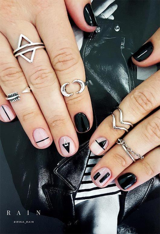 65 beeindruckende Nail Art Designs für kurze Nägel – Sick nails!