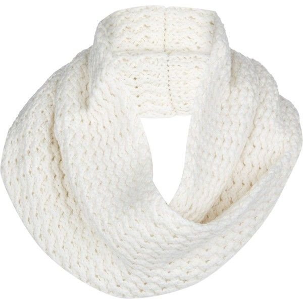 UGG Sequoia Twisted Solid Knit Snood Scarf found on Polyvore featuring accessories, scarves, knit snood, ugg australia, patterned scarves, print scarves y knit scarves