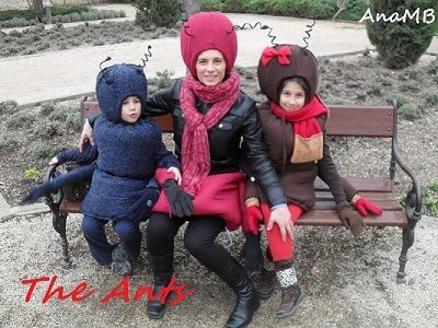 The Ants costumes