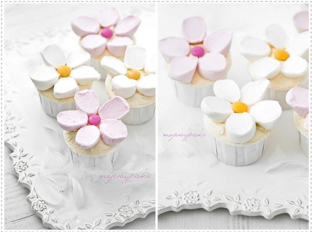 Madelief cupcakes! Leuke en makkelijke traktatie.