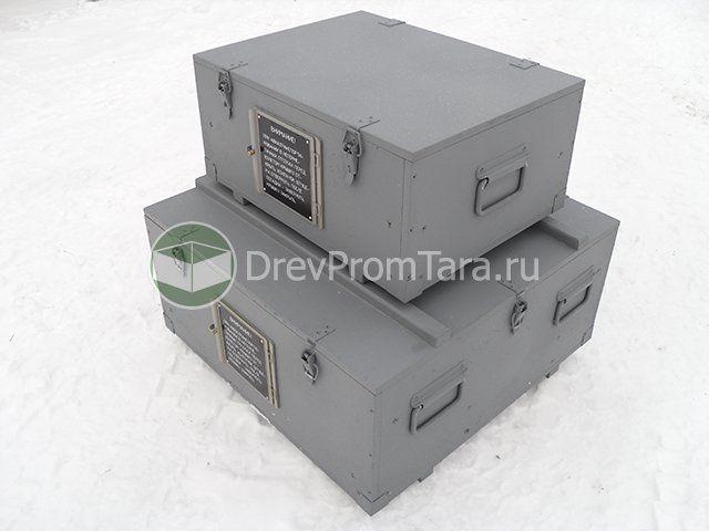 Военный ящик с лючком
